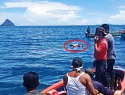 Nelayan Bagan Pancang Muara Nibung yang Hilang Ditemukan Terapung
