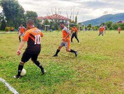 Nomor Punggung 10, Bupati Bakhtiar Sibarani Lincah Membawa Bola